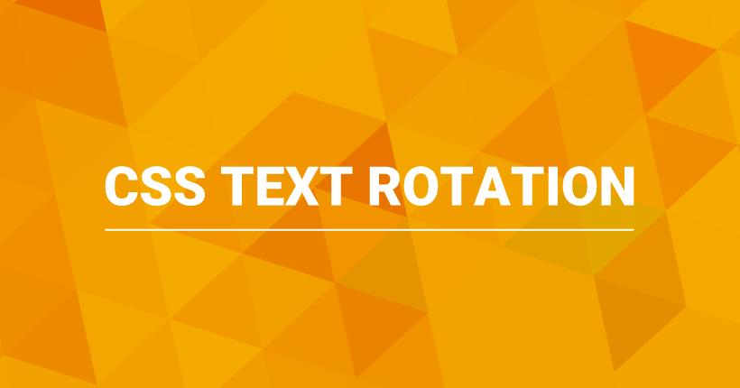 CSSで実装する文字を回転させるホバーエフェクト