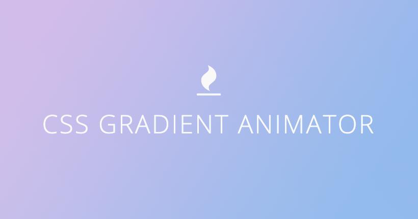 グラデーションアニメーションを簡単に作成するCSS Gradient Animatorの使い方