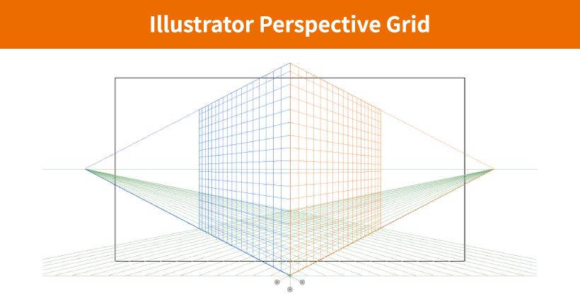 Illustratorで遠近グリッドを非表示にする方法