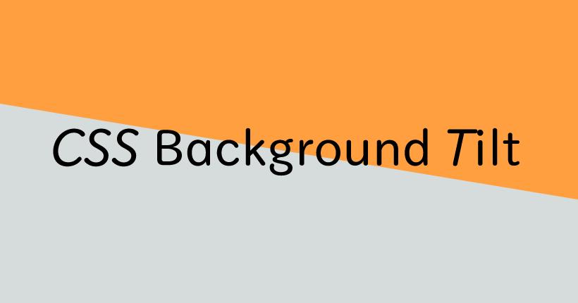 CSSで斜めの背景を実装する方法